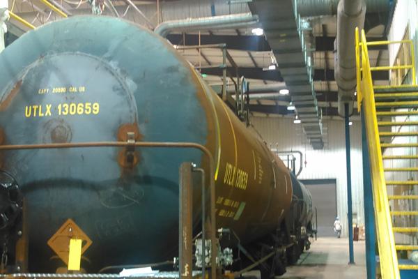 Railcar Lining Photo
