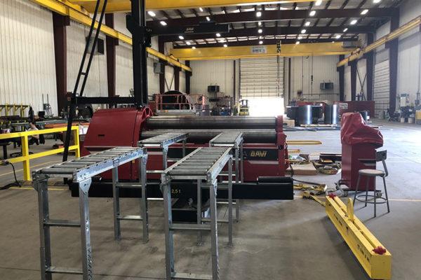 Plate Roll Machine