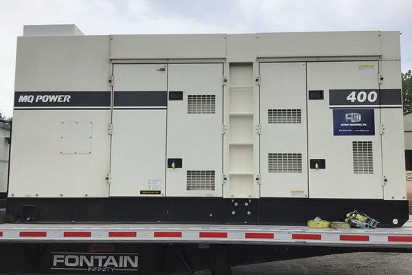 Commercial Air Conditioner Rental Generator