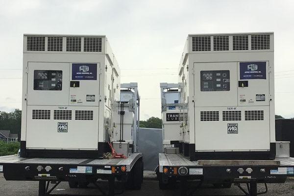 Industrial HVAC Rental Generators