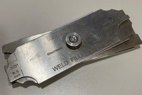 Weld Fillet Gauge